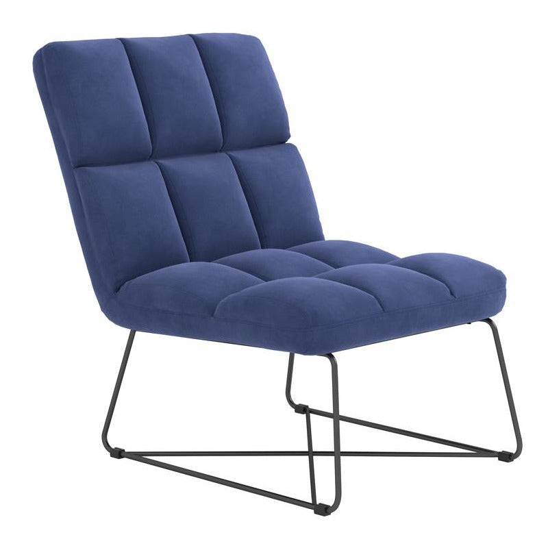 Accent Chair, Midnight Blue - Casa Muebles
