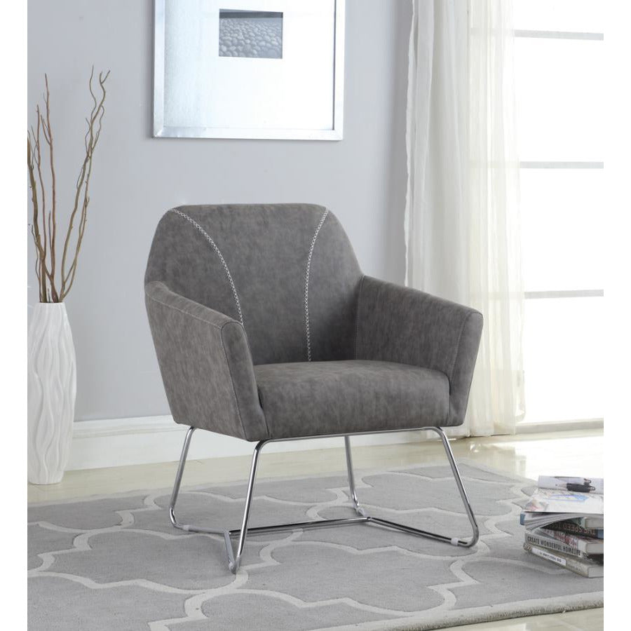 Accent Chair, Grey
