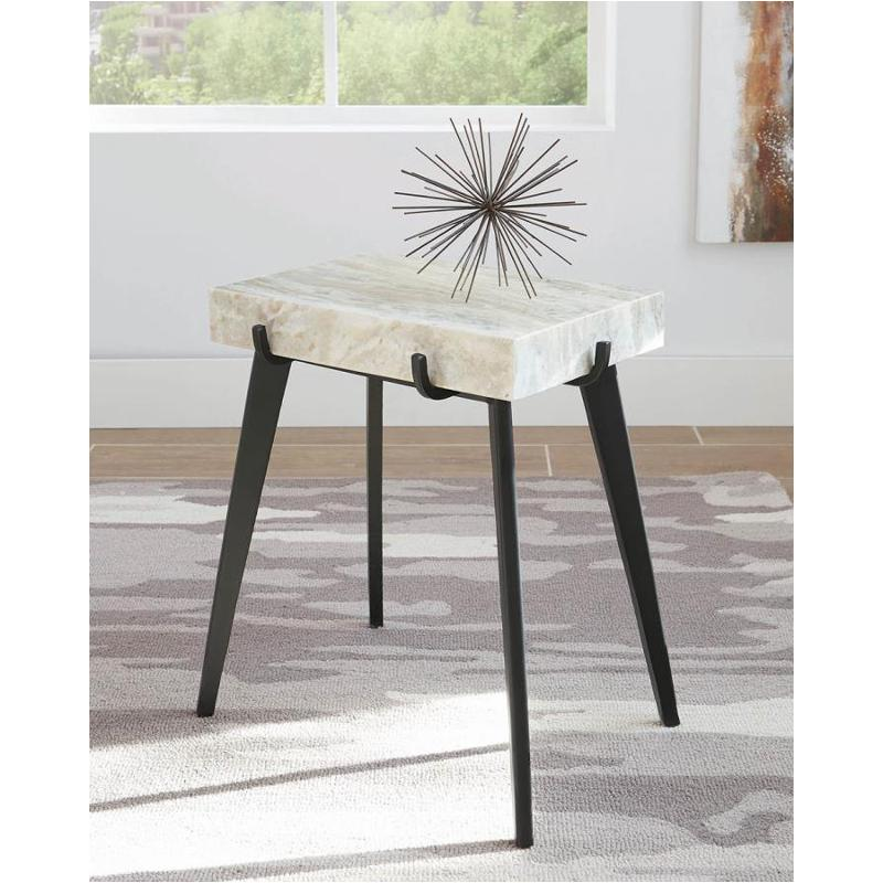 Marble End Table - Casa Muebles