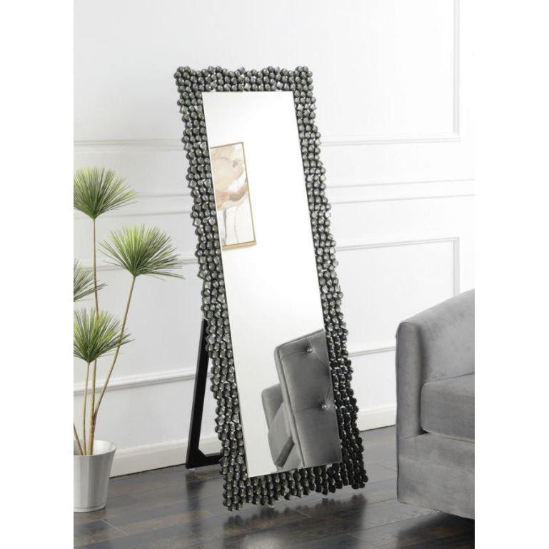 CHEVAL MIRROR, SILVER OKY GREY