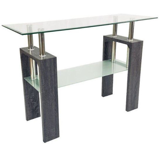 Console Table- Charcoal - Casa Muebles