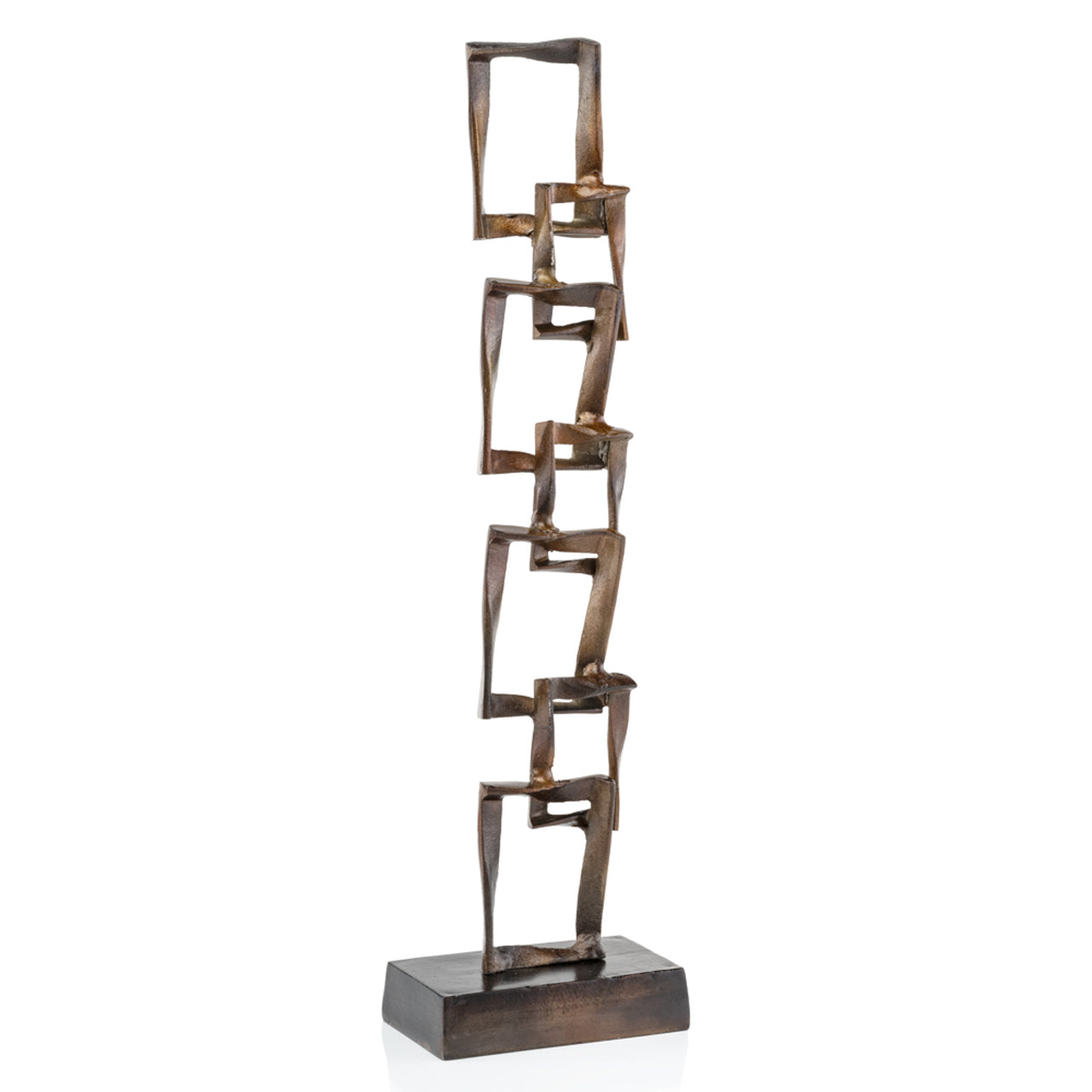 Cuadrado Tall Square Sculpture - Casa Muebles