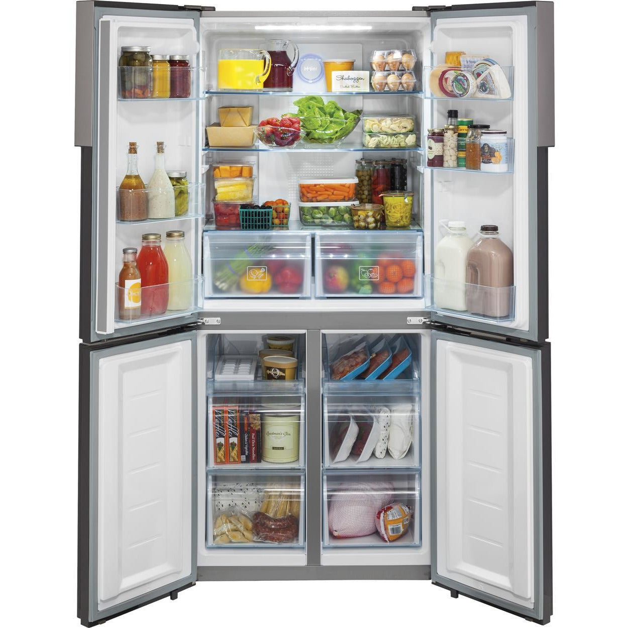 16.7 Cu. Ft. Quad Door Refrigerator - Casa Muebles