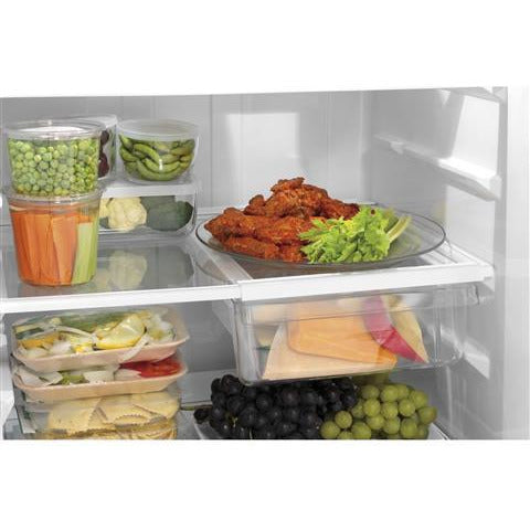 GE® ENERGY STAR® 17.5 Cu. Ft. Top-Freezer Refrigerator - Casa Muebles