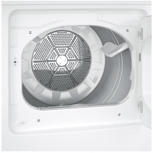GE® 7.2 cu. ft. Capacity aluminized alloy drum Electric Dryer - Casa Muebles