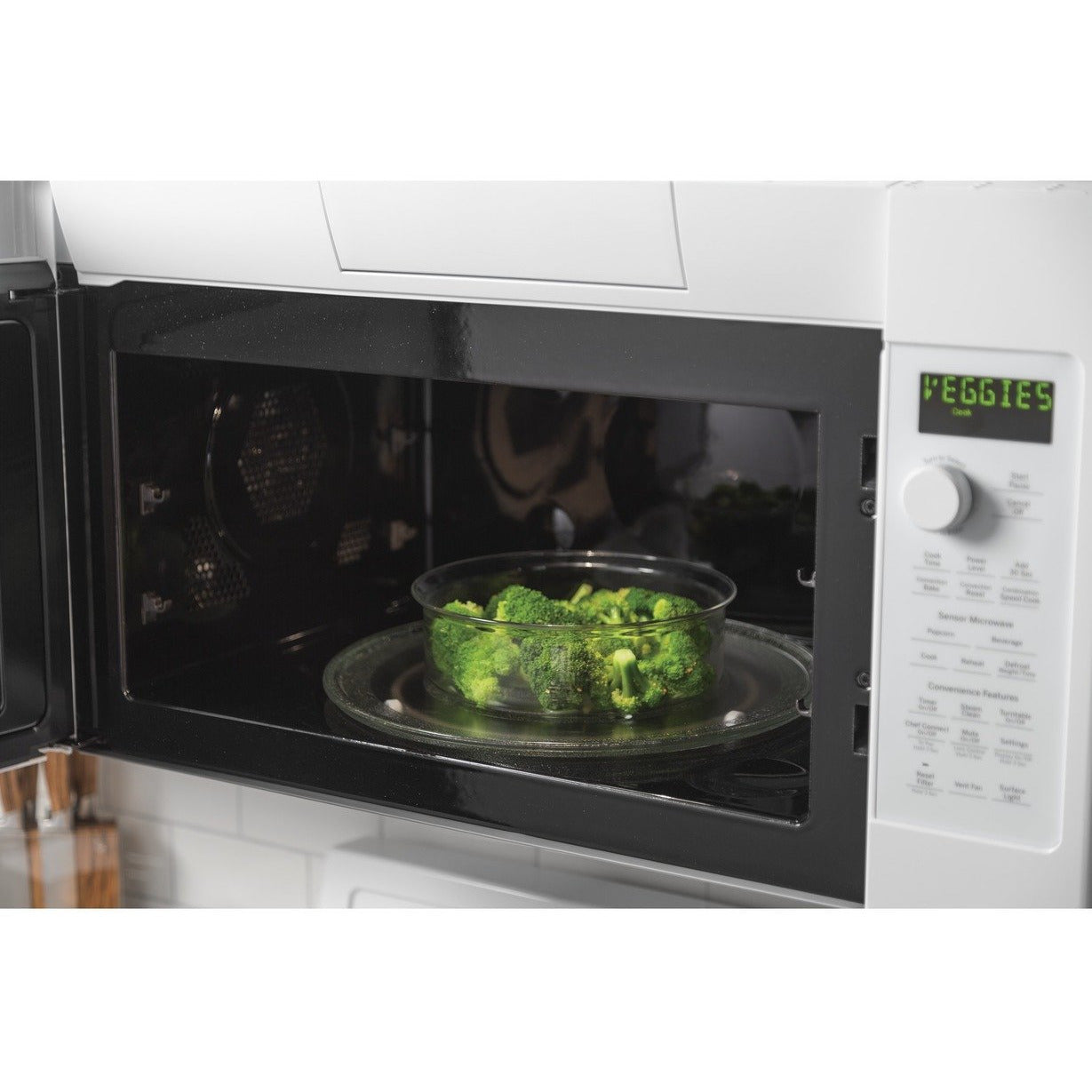 GE Profile™ 1.7 Cu. Ft. Convection Over-the-Range Microwave Oven - Casa Muebles