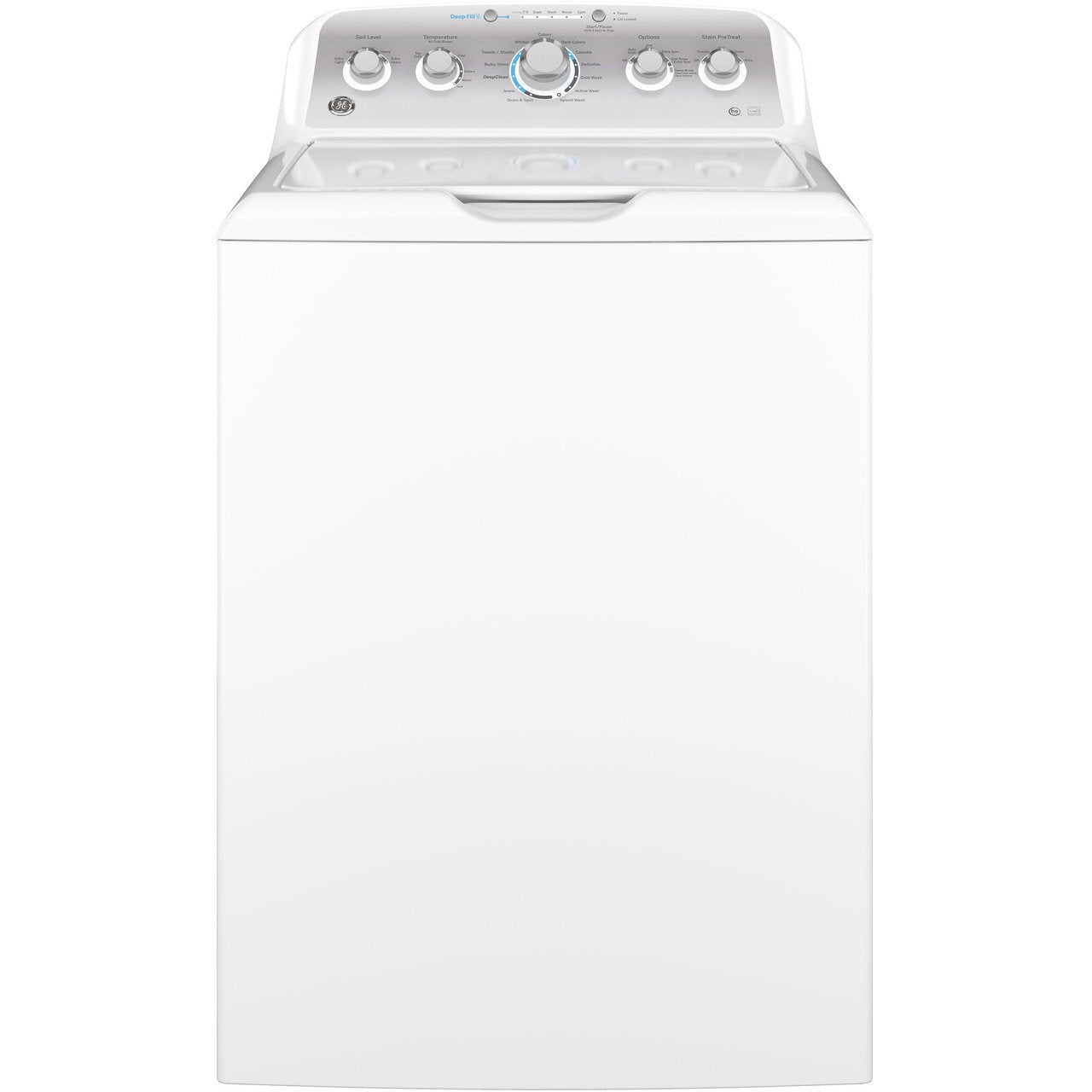 GE® 4.6 cu. ft. Capacity Washer with Stainless Steel Basket - Casa Muebles