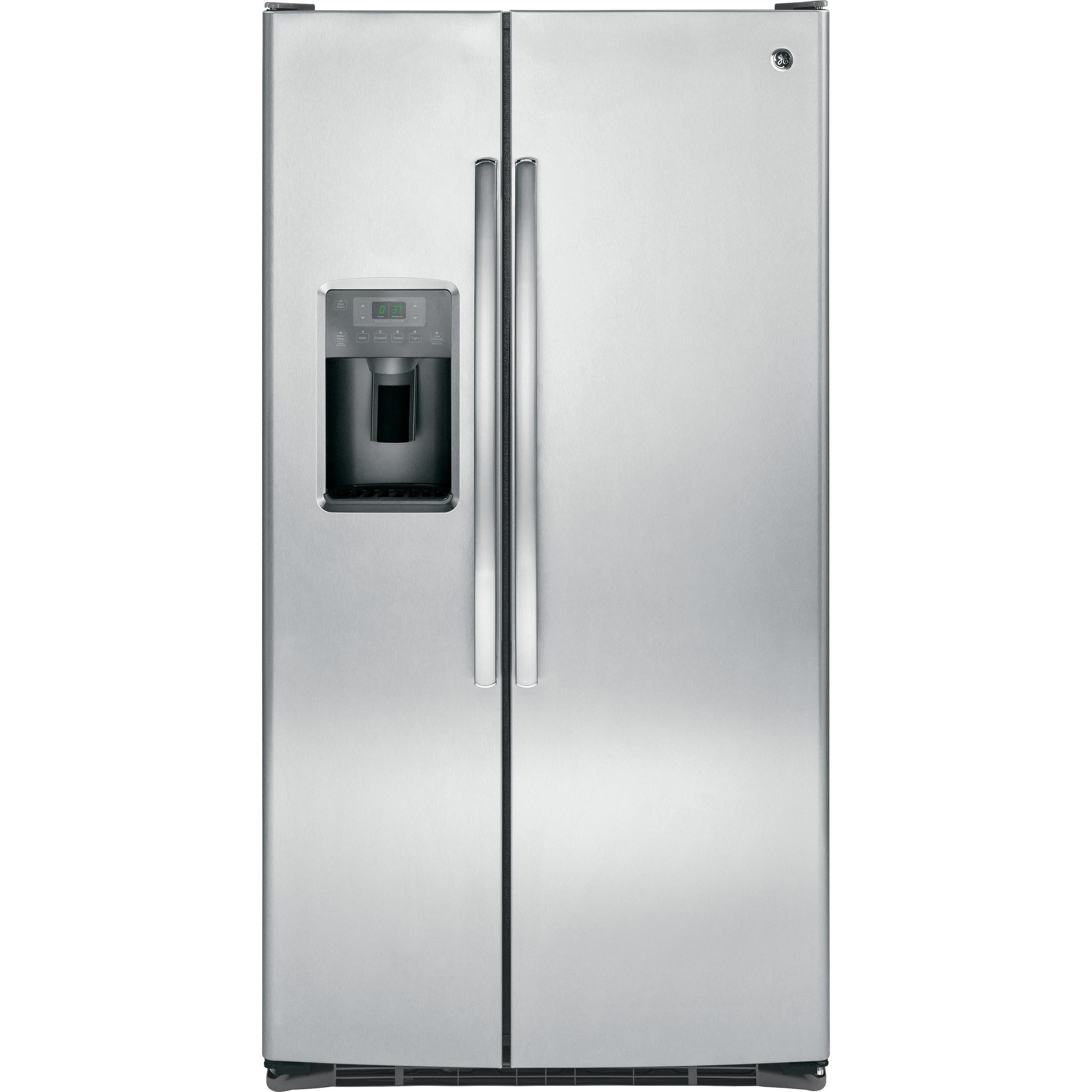 GE® ENERGY STAR® 25.3 Cu. Ft. Side-By-Side Refrigerator - Casa Muebles