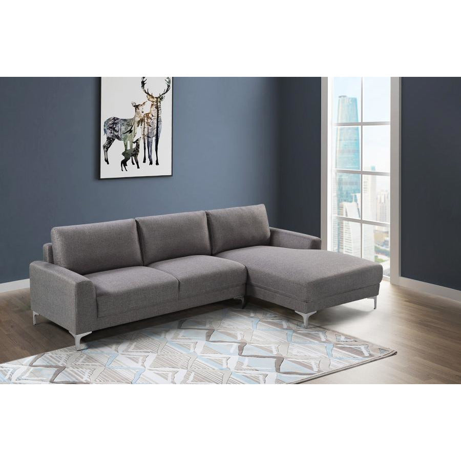 LIVING - NEW YORK COLLECTION GREY FABRIC