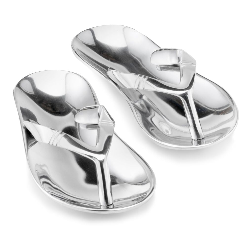 Chancla Polished Sandals - Pair - Casa Muebles