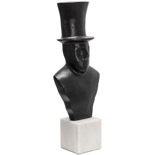 "15"" MAN WITH HAT, BLACK"