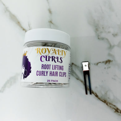 Royalty Curls Root Lifting Curly Hair Clips