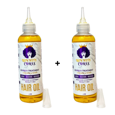 BUNDLE OF 2 ROYALTY OIL HAIR & SCALP TREATMENT