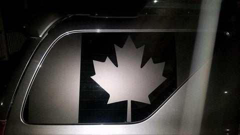 Toyota 4runner 4th gen  Canada flag decal ( not precut ) - OGRAPHICS