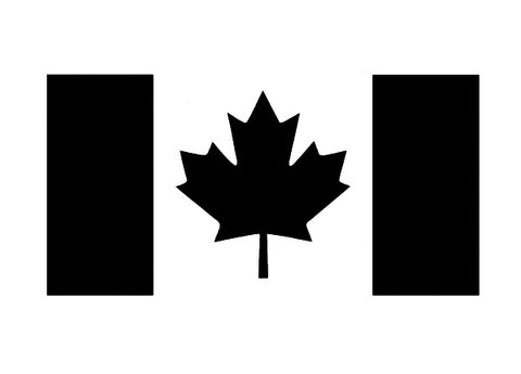 Canada f  flag decal / sticker / graphics - OGRAPHICS