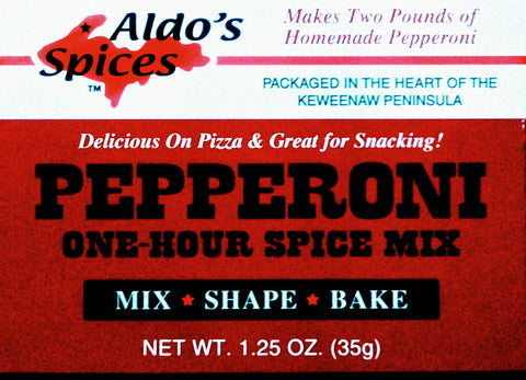 Aldo's Pepperoni 1-Hour Spice Mix