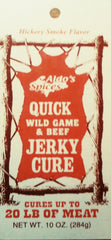 Aldo's Quick Wild Game & Beef Jerky Cure