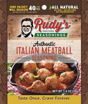 Rudy's Italian Meatball Seasoning