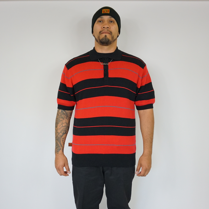 FB County TRILOGY Charlie Brown Shirt Black/Red/Grey