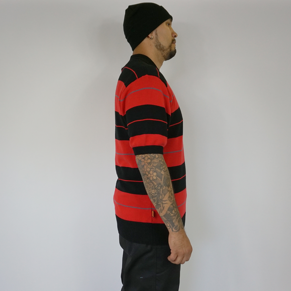 NEW FB County TRILOGY Charlie Brown Shirt Black/Red/Grey