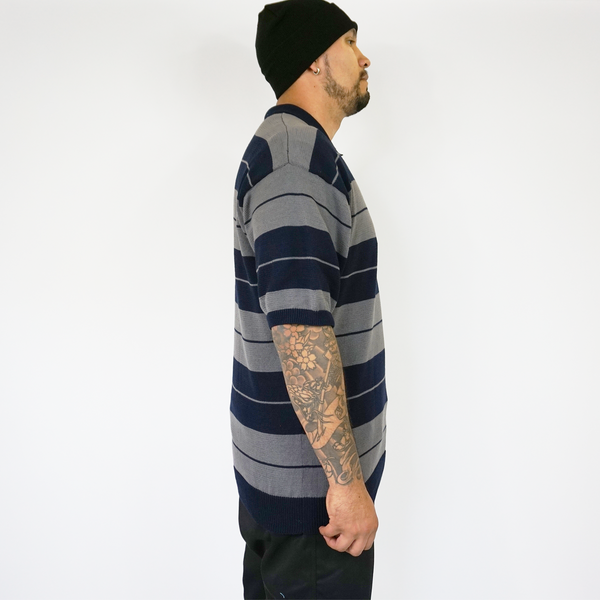 FB County Charlie Brown Shirt Navy/Grey