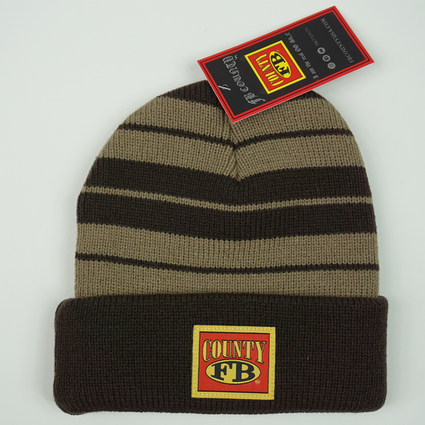 FB County Charlie Brown Beanie - Brown/Tan