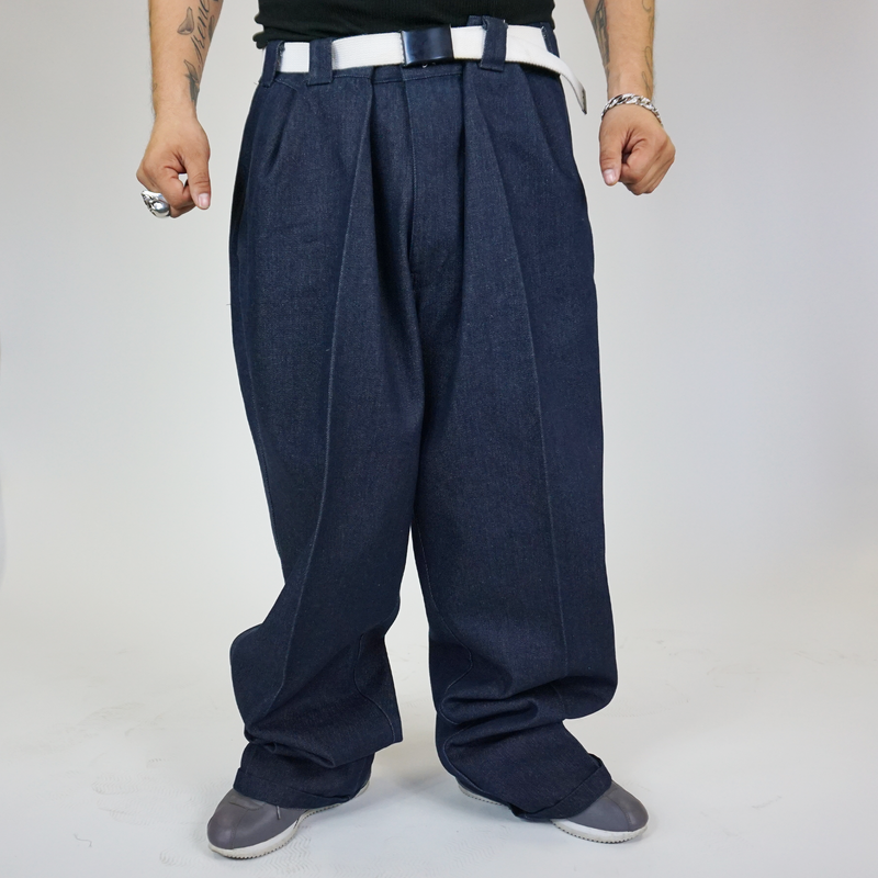 FB County Hard Denim Pant Indigo Blue