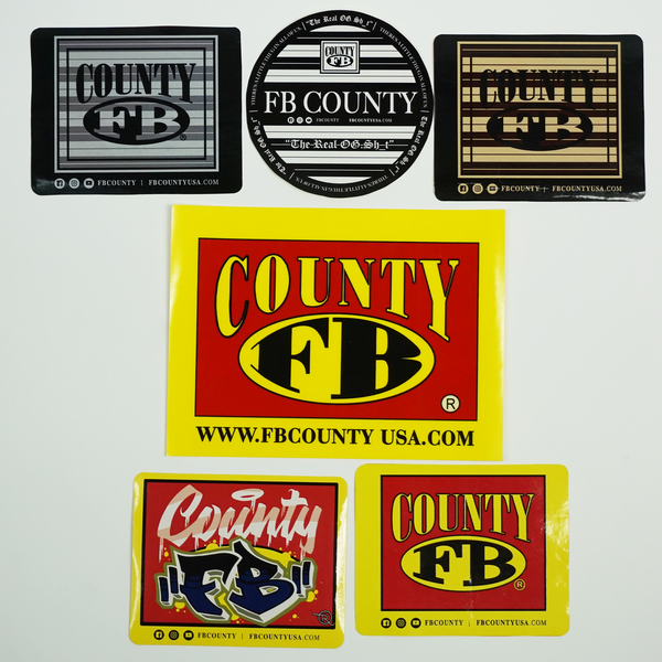 FB County Sticker Pack