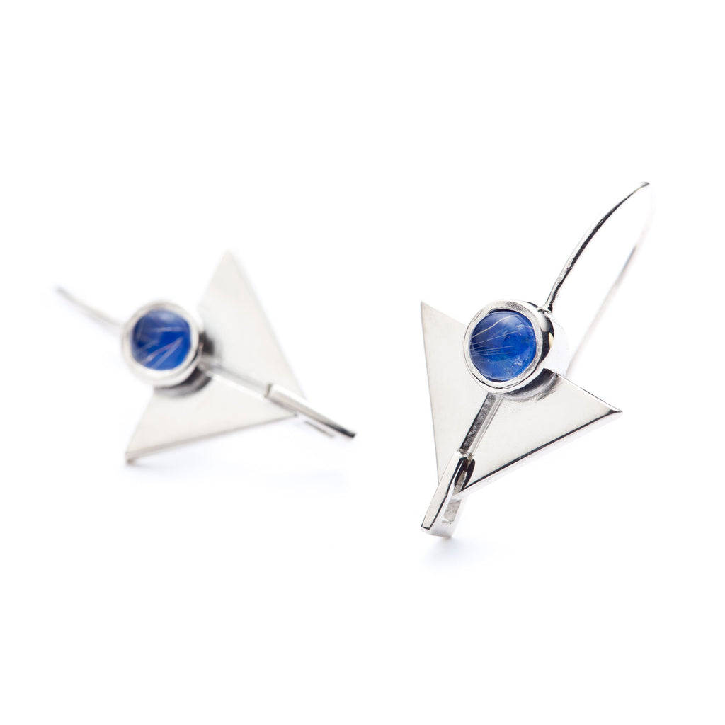 Deco Lapis hanging earring