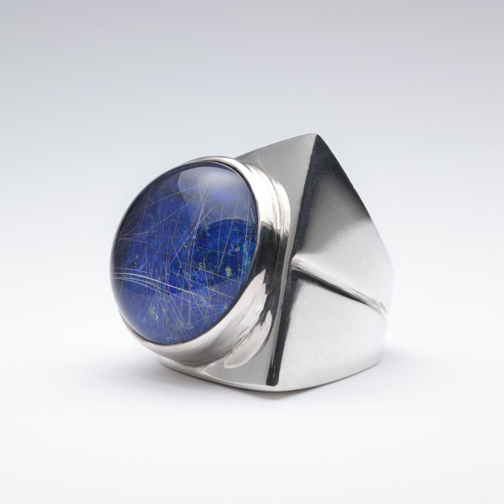 Deco Lapis ring