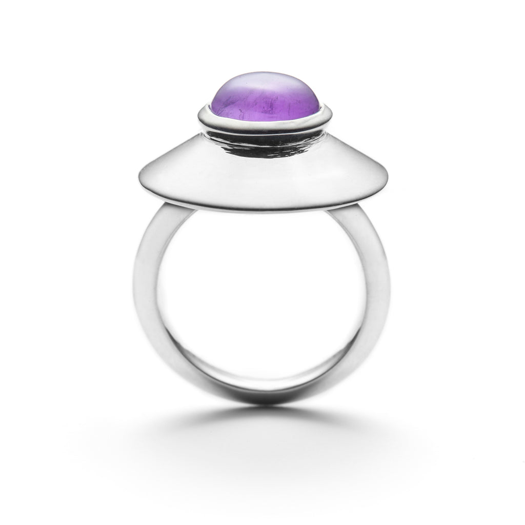 Couleur Midi purple amethyst ring