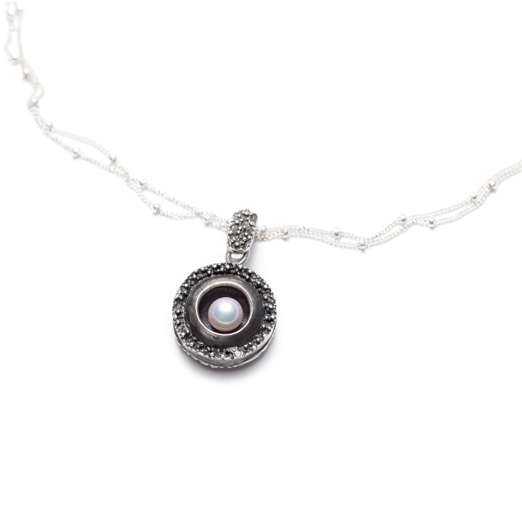 Océan pearl pendant necklace
