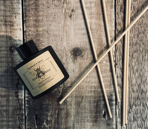 100ml Matt Black Circular Reed Diffuser