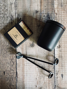 Black Edition 300ml candle set