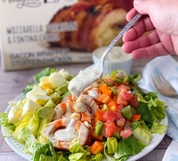 Low Carb Buffalo Chicken Salad