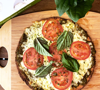 Pesto Pizza!