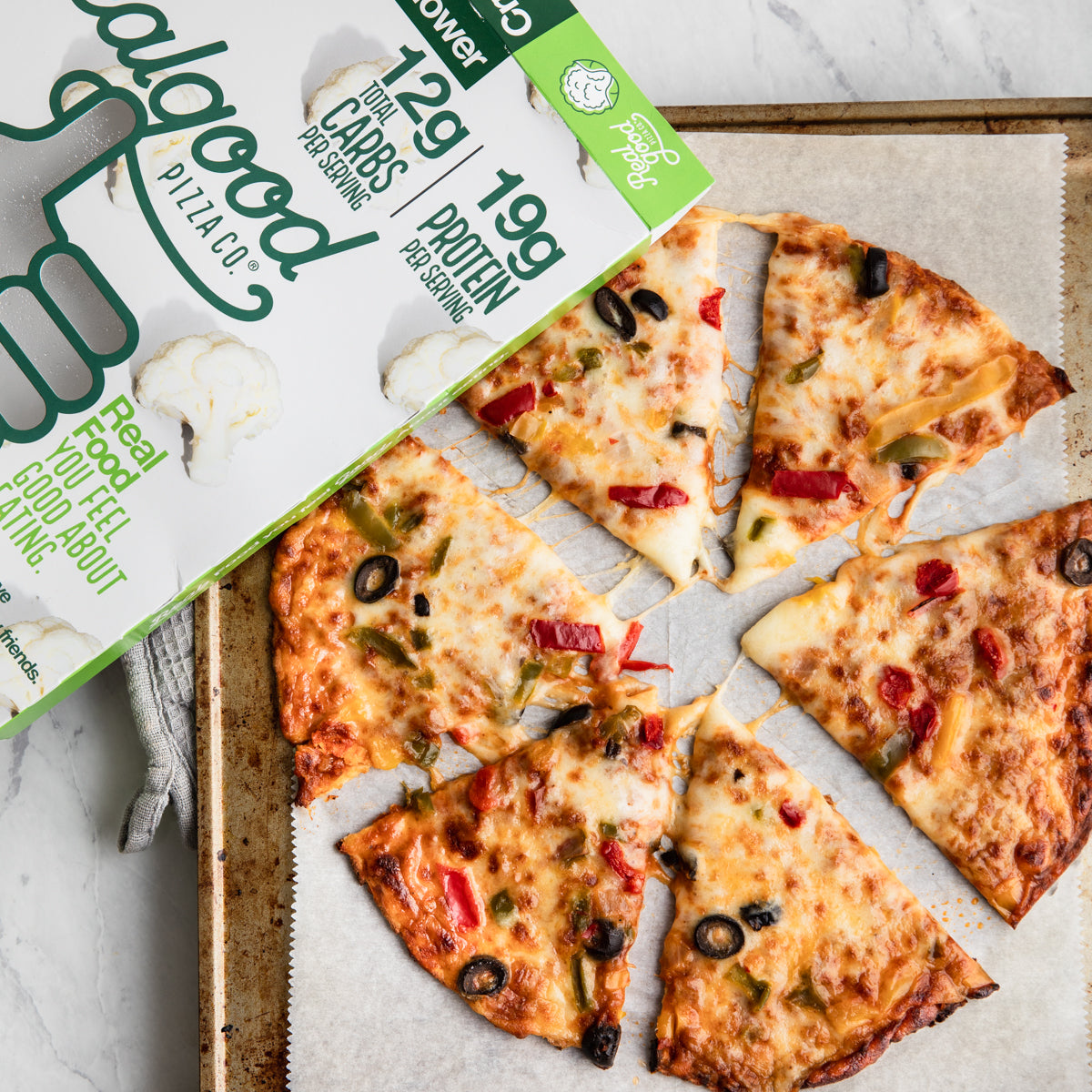 Real Good Foods Makes Pizza For Diabetics