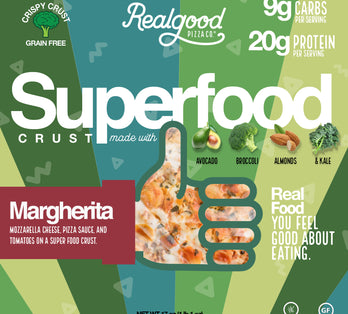 Introducing NEW Superfood Crust Pizza!