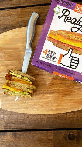 better-for-you Jimmy Dean Breakfast Sandwich