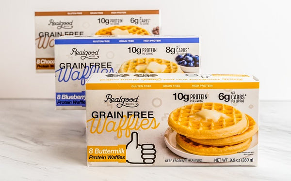 grain free waffles by real good foods