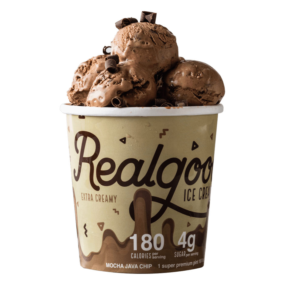 Super Premium Mocha Java Chip Ice Cream