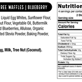 Grain-Free Blueberry Waffles