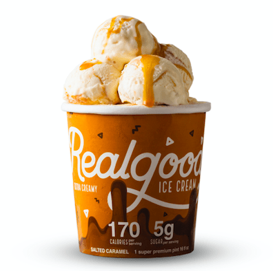Super Premium Salted Caramel Ice Cream- 8ct Case