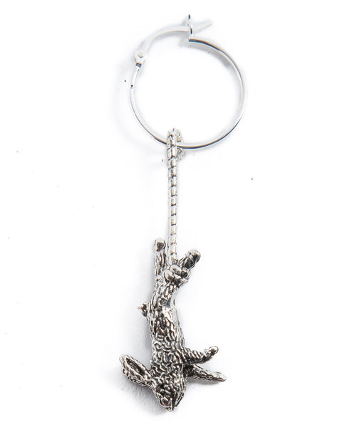 RABBIT EARRING – SILVER