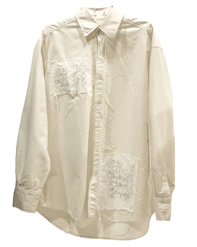 """SORRY"" BUTTONDOWN"