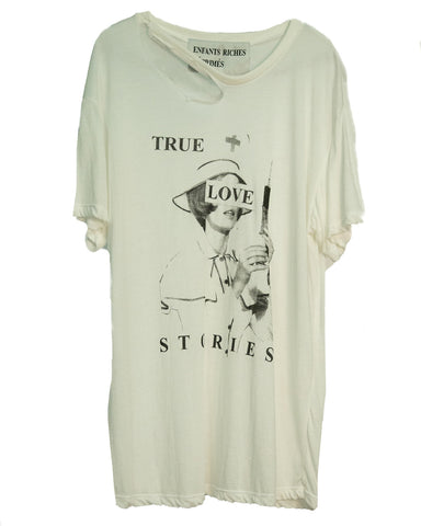 """TRUE LOVE STORIES"" T-SHIRT"