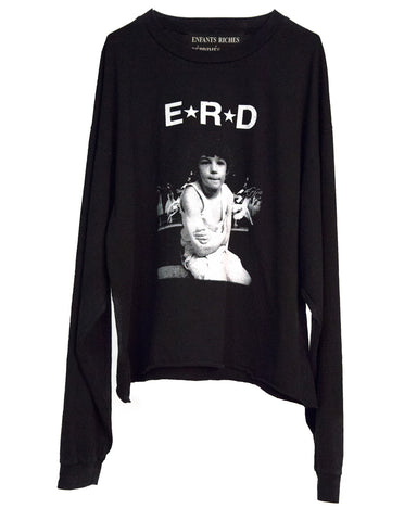 E.R.D. STAR LOGO LONG SLEEVE