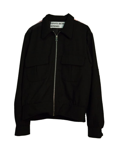 """CHRISTIANE F."" CROPPED CADET JACKET"