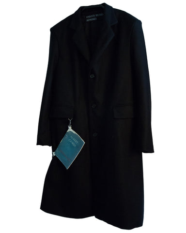 "MELTON WOOL ""STRANGER"" OVERCOAT"