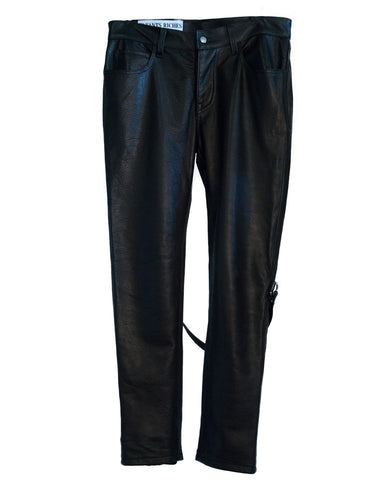 COWHIDE LEATHER BONDAGE PANTS